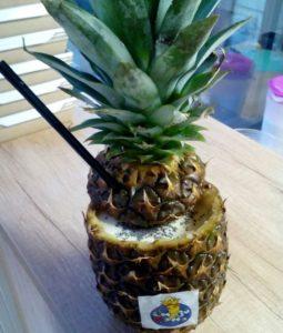 Смузи с чиа и ананасом