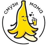 Логотип кафе Смузи Мама