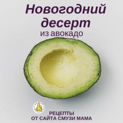 рецепты с авокадо (avocado)
